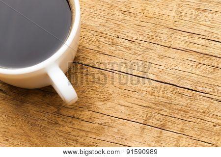 Cup Of Black Coffee - Studio Shot