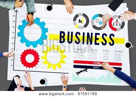 Business Success Growth Global Development Concept
