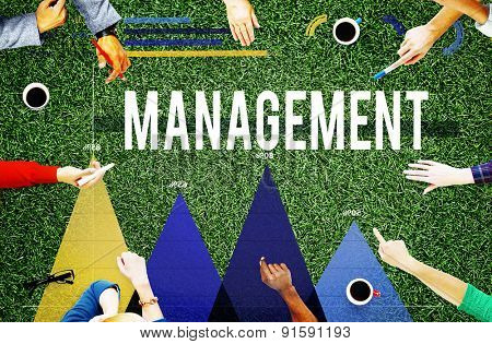 Management Organization Manager Managing Concept