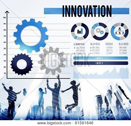 Innovation Invention Progress Future Development Concept
