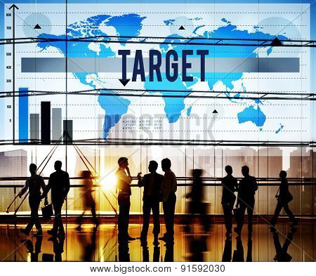 Target Aspiration Goal Mission Success Aim Concept