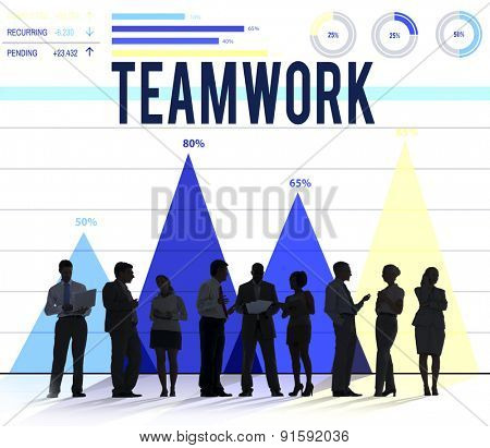 Teamwork Team Collaboration Cooperation Partner Concept