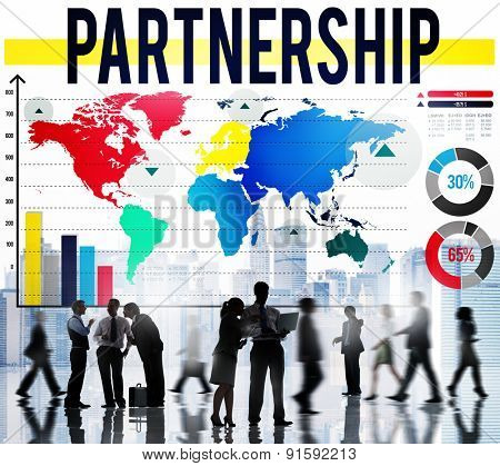 Partnership Collaboration Team Togetherness Concept