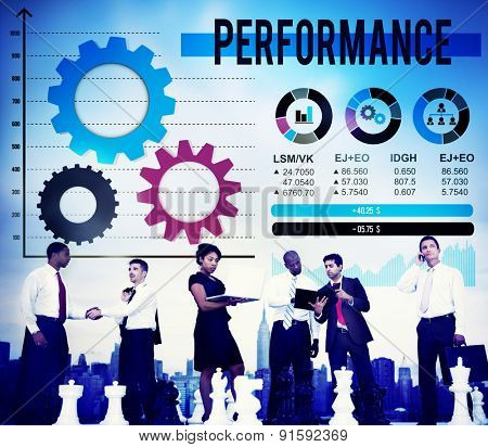 Performance Competency Potential Skill Expert Concept