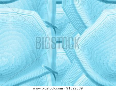 background with cyan agate seamless structure