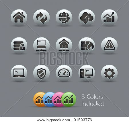 Web Developer Icons // Pearly Series