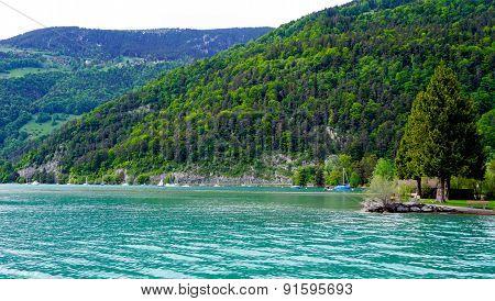 Scener Of Thun Lake