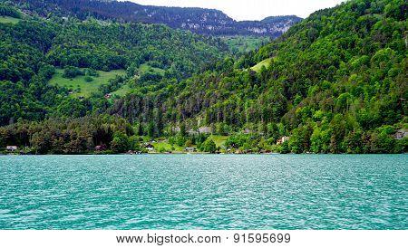 Scenery Of Thun Lake