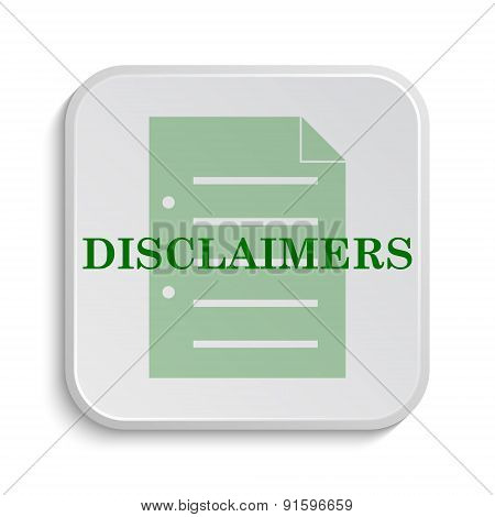 Disclaimers Icon