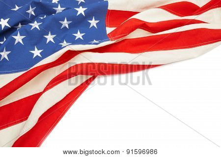 Usa Flag With Place For Your Text
