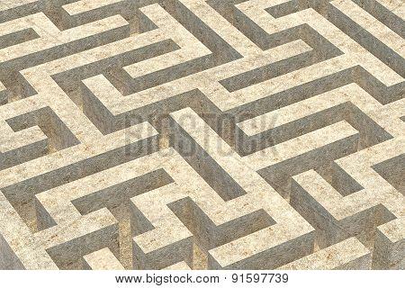 Stone Maze