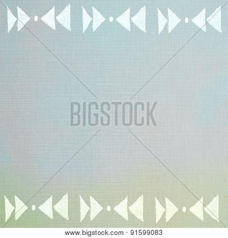 Handmade Ornament Prints On Paper Background - Abstract Graphic Design