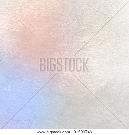 Bright watercolor on pastel tones painted on textured paper - Abstract Background