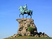 picture of copper  - George III equestrian statue - JPG
