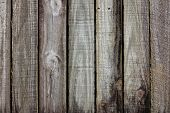 pic of log fence  - old rough timber fence planks with a old weathered look - JPG