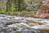 picture of collins  - Cache la Poudre River west of  Fort Collins in northern Colorado  - JPG