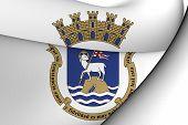 image of san juan puerto rico  - 3D Flag of San Juan Puerto Rico - JPG