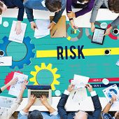 foto of risk  - Risk Risk Management Dangerous Safety Security Concept - JPG