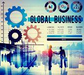 stock photo of enterprise  - Global Business International Growth Enterprise Concept - JPG