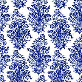 stock photo of motif  - seamless paisley patterns - JPG