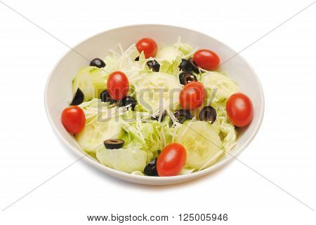 A Bowl of Healthy & Appetizing Vegetable Salad
