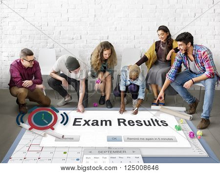 Exam Results Examination Grade Education Score Concept