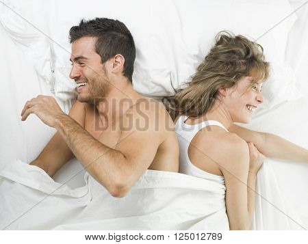 man and woman having a good and healty relationship