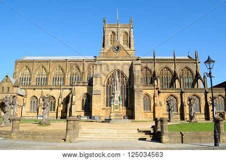 The Abbey Church of St Mary the Virgin at Sherborne (Sherborne Abbey) in the English county of Dorset