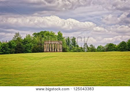 Temple Of Concord In Park Of Audley End House