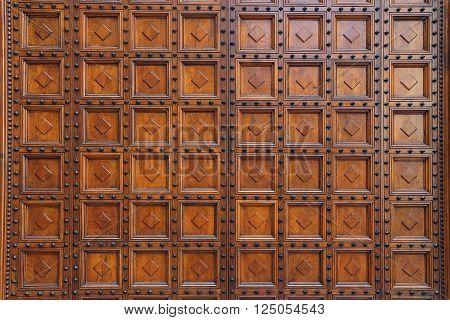 Siena - Baptistery Door Tuscany - Italy
