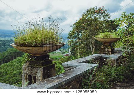 Old Abandoned Hotel in Bali . .