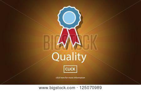 Quality Guarantee Level Service Best Class Value Concept