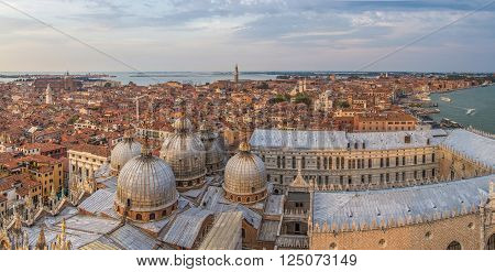 View from campanile di San Marco in Venezia, Italia