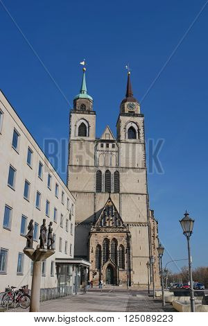 Church Of Saint Jochannis, Jochanniskirche, Magdeburg, Germany