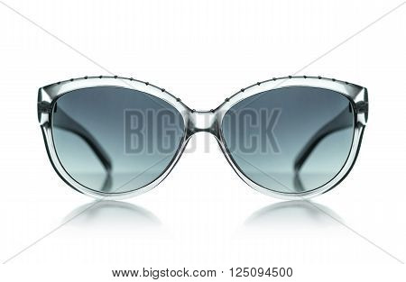Women's Sunglasses sunglasses isolated on white background. With clipping path
