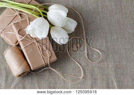 Wedding Decoration With Craft Paper