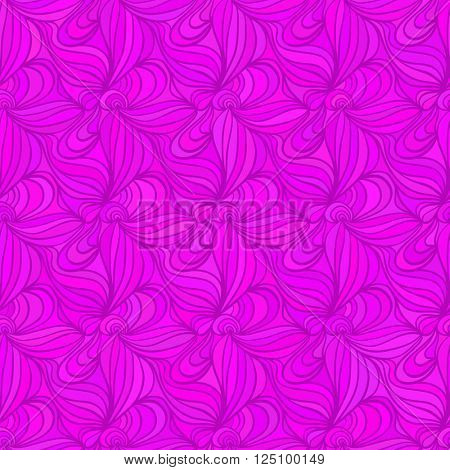Seamless abstract magenta waves background