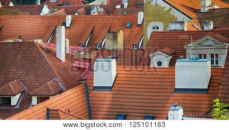Nice Prague Roofs