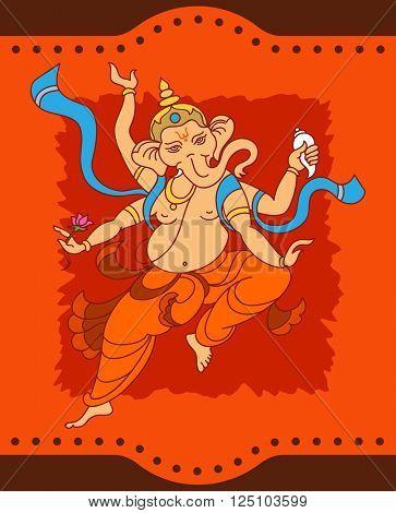 Ganesha The Lord Of Wisdom Raster Art