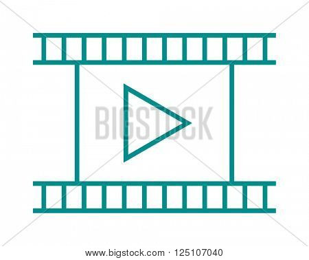 Blank light leaked highly detailed real vintage negative film frame camera cinema filmstrip vector illustration.