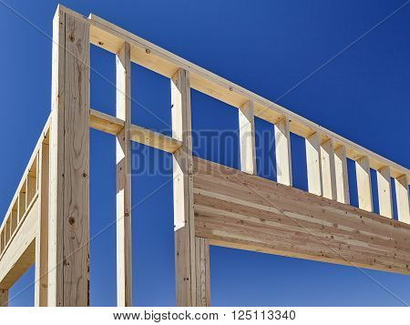 construction home building industry carpentry and sitework details in progress ** Note: Visible grain at 100%, best at smaller sizes