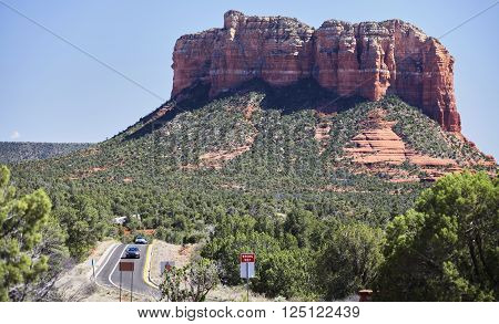 highway sign wrong way road sedona bell rock highway vaction travel