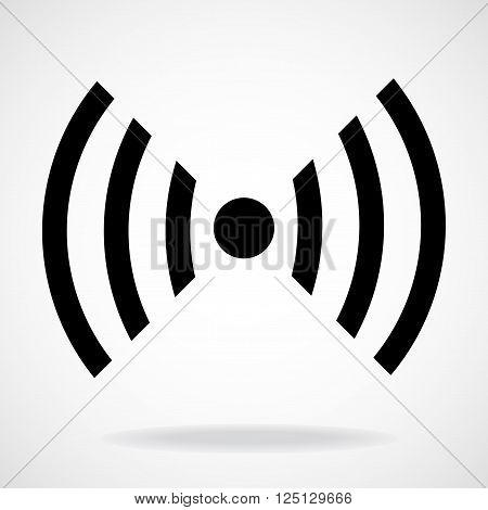 Wifi sign. Wireless network icon. Wifi zone