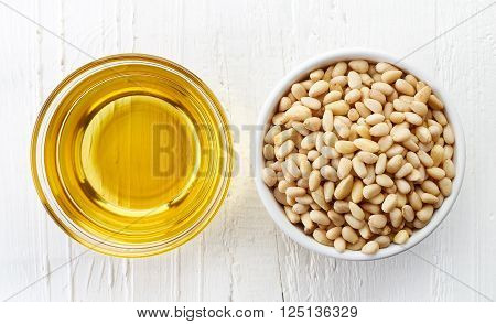 Pine Nut Oil And Pine Nuts