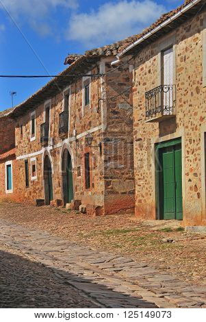 Typical Street In Castrillo De Los Polvazares