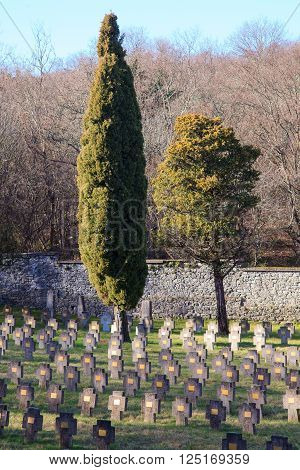 This war cemetery contains 1934 Austro-Hungarian war graves from the First World War