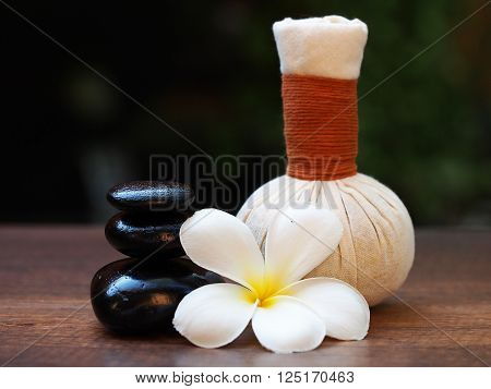 Thai Spa, herbal ball, compress ball and rock spa, Thailand