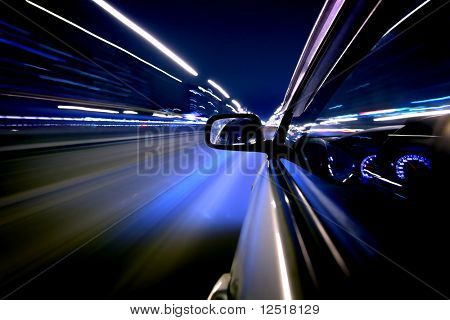 schnell fahren