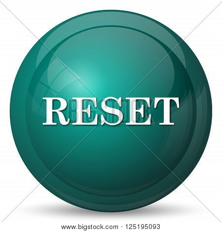 Reset icon. Internet button on white background.