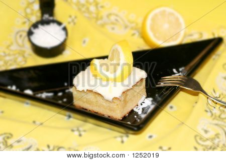Lemon Coconut Sheet Cake
